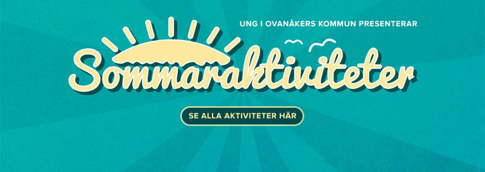 Sommaraktiviteter för ungdomar i Ovanåkers kommun
